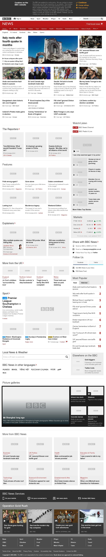 BBC at Sunday Oct. 30, 2016, 4:01 p.m. UTC