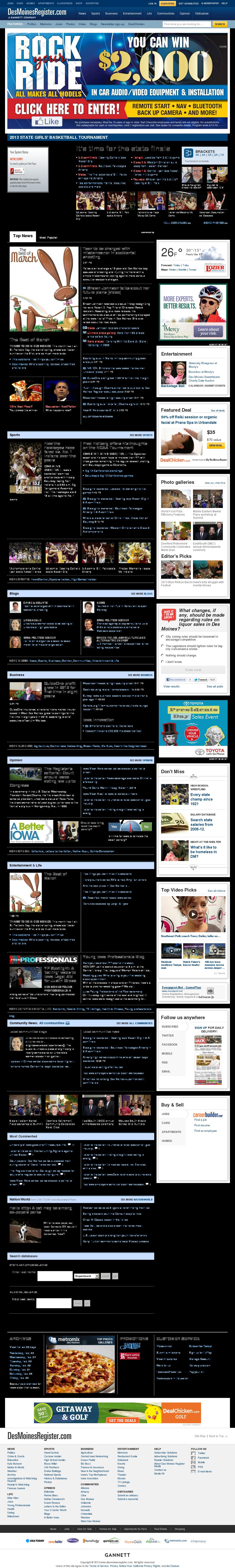 DesMoinesRegister.com at Saturday March 2, 2013, 4:04 a.m. UTC