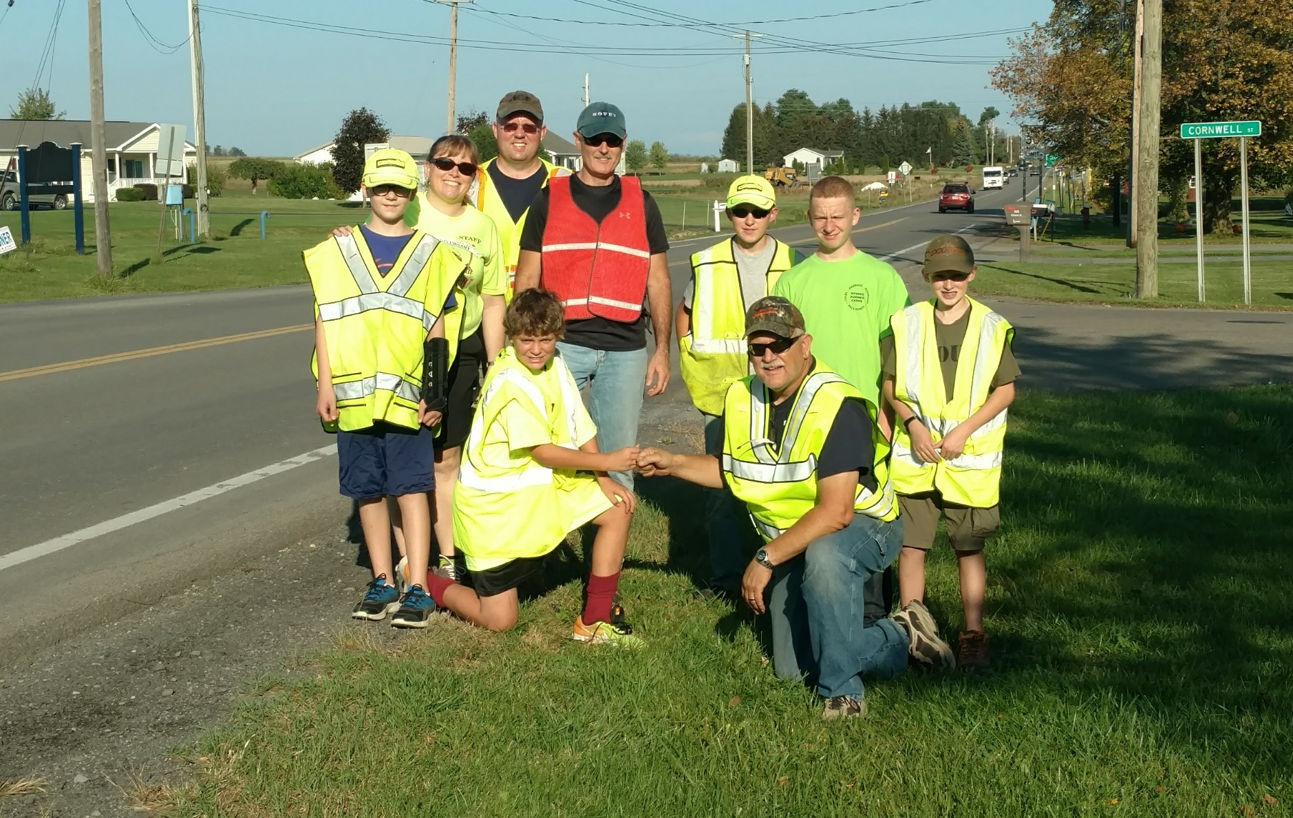 Cleaning up in Penn Yan (photo)